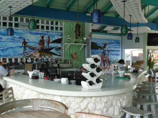 Le bar intérieur bild von fish trap restaurant bar la digue