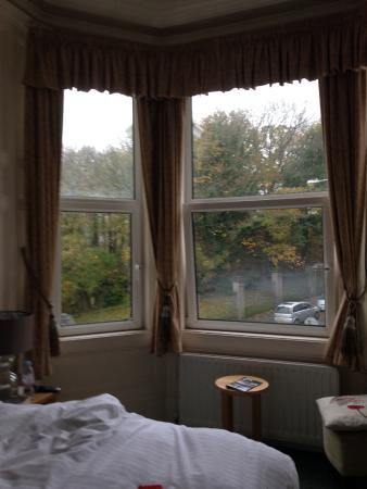 The Devonian: View from Room 6, on a wet & windy November day