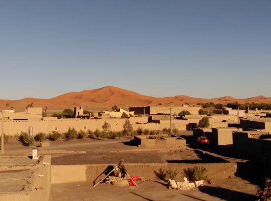 Vistas desde la terraza de Dar Poublanc