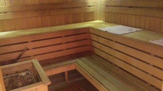 Ratonda Centrum Hotels: sauna