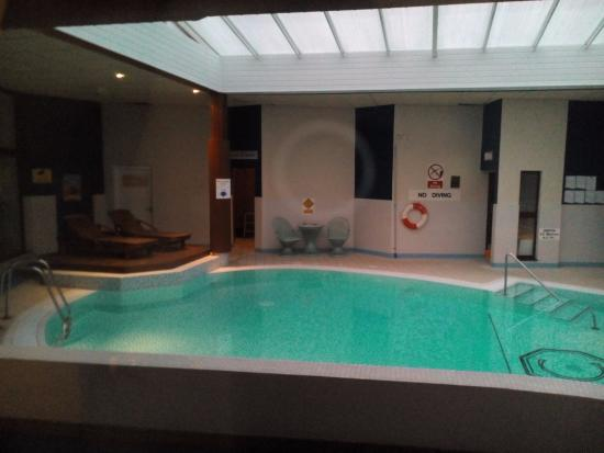 View Of Pool From Living Room Picture Of Craigmonie Hotel Leisure Ltd Inverness Tripadvisor