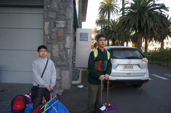 Novotel Auckland Ellerslie Hotel: Depan hotel