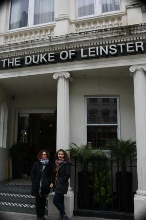 Duke Of Leinster Hotel Entrada Del