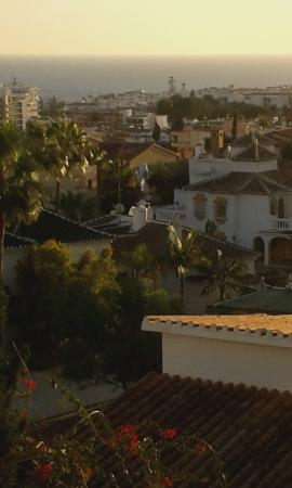 Nerja Club: View from balcony Room 403