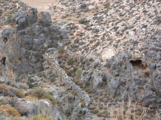 Makry-Gialos, Grèce: il canyon