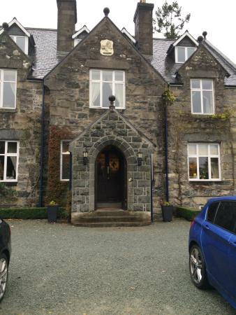 Penmaenuchaf Hall: Rooms above the front door are perfect