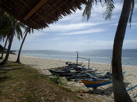 Camotes Islands, Philippinen: View from the hut