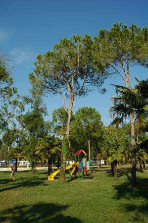 Camping Laguna Village: Parco giochi