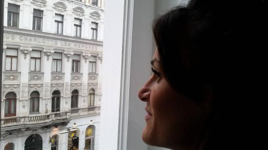 Hotel-Pension Bleckmann: vista palazzi d'epoca