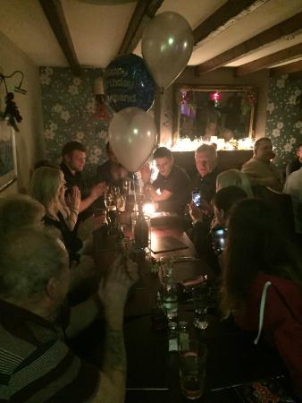 Childer Thornton, UK: Lovely birthday celebrations this weekend!