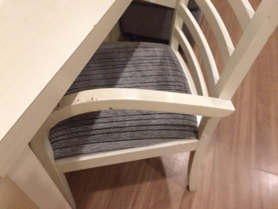 Hotel Mercure SP Moema: Cadeira da sala