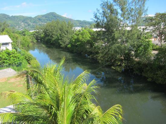 Mont Fleuri, Seychellen: Вид из ванной комнаты