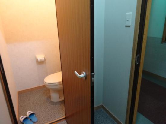 Kadoya: トイレが部屋についています