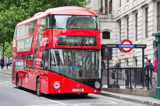 London, UK: New Routemaster
