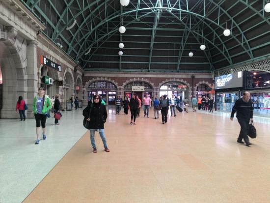 Central Railway Station: Concourse Utara