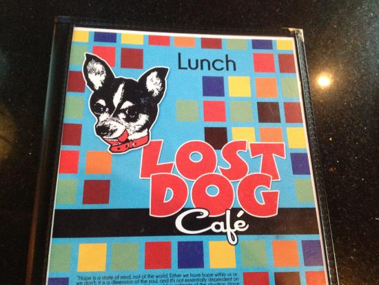 The Lost Dog Cafe - menu - Picture of The Lost Dog Cafe, Binghamton