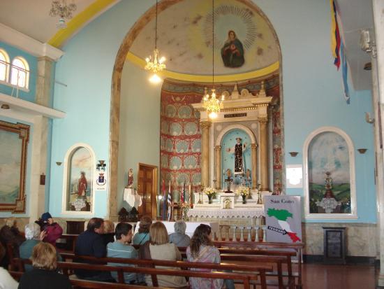 Florida, Uruguay: Interior de la capilla