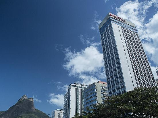 Hotel Marina Palace Rio Leblon: Fachado do hotel