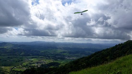 Punta Santiago, Puerto Rico: flying