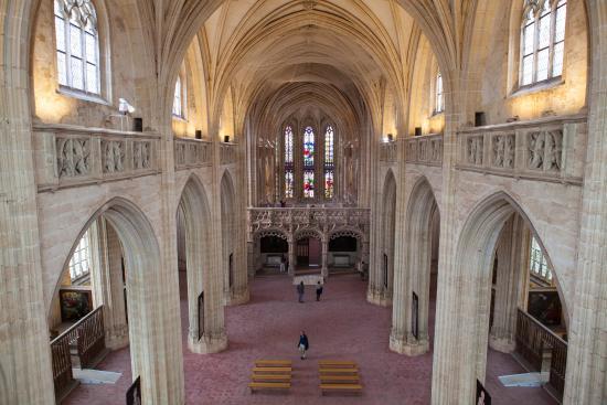 Salle xviiie du mus e jj pauget picture of monastere for Salle de bain bourg en bresse