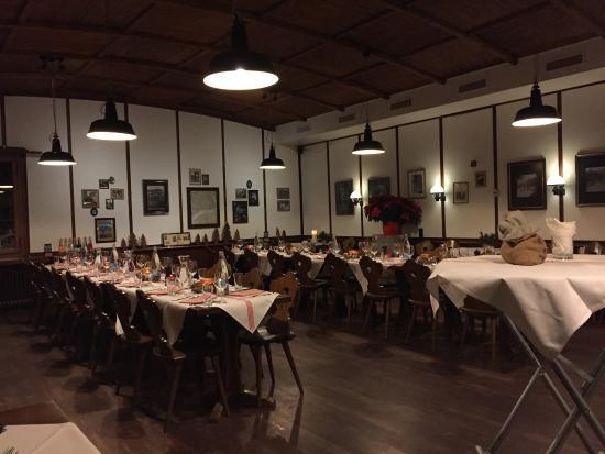 Tessin Grotto : Dining Hall