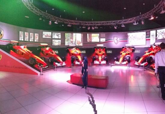 Ferrari Museum Tour Picture Of Ferrari Factory