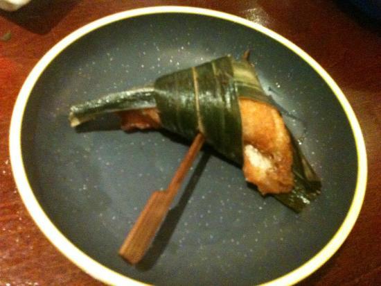 Okiru im Riverside : salmon baked