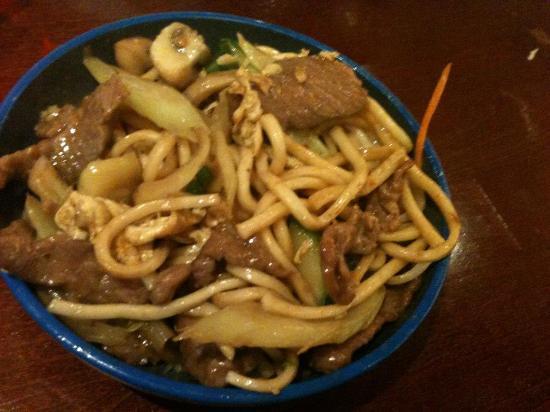 Okiru im Riverside : noodles with duck