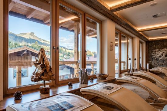 Hotel Alte Post: Ruhebereich im Latschenkieferspa Alte post Fieberbrunn