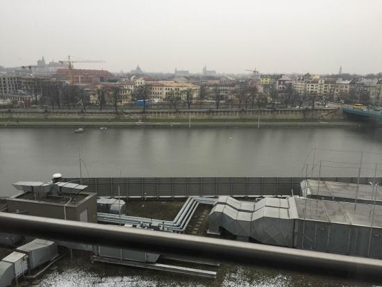 Qubus Hotel Krakow: Vistas desde la habitación