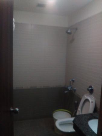 Krishnagiri, India: bathroom