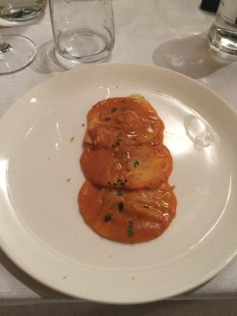 Argentario Golf Resort & Spa: Fantastic Pasta dish with fish