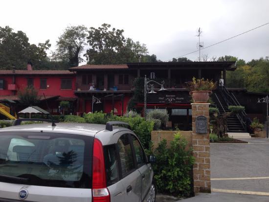 Hotel Il Dito e la Luna: wjazd