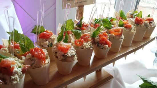 Josephine's Kitchen Catering: housemade mozzerella, tomato basil chicken salad