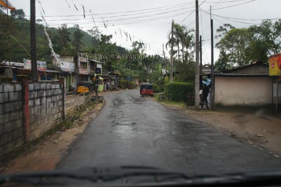 Maskeliya, Σρι Λάνκα: Дорога к отелю