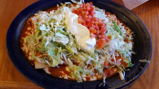 El Toro Mexican Restaurant: enchilada especials