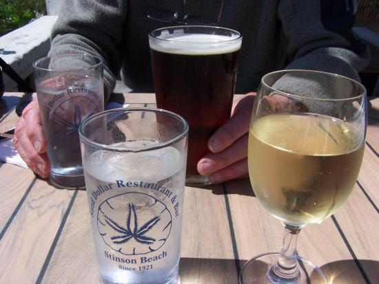 Sand Dollar Restaurant: Wine, beer & water