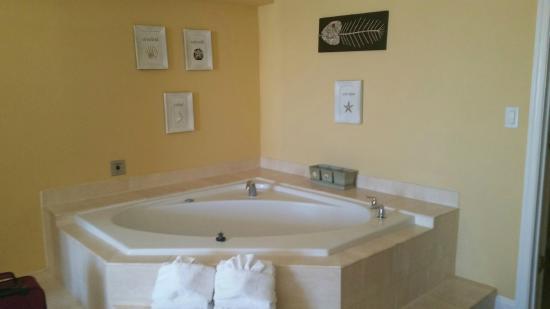 leaky tub - Picture of Coconut Malorie Resort, Ocean City - TripAdvisor