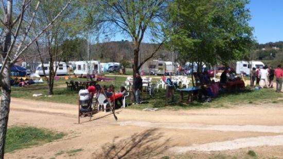 Camping Ribera del Chanza: camping Cortegana