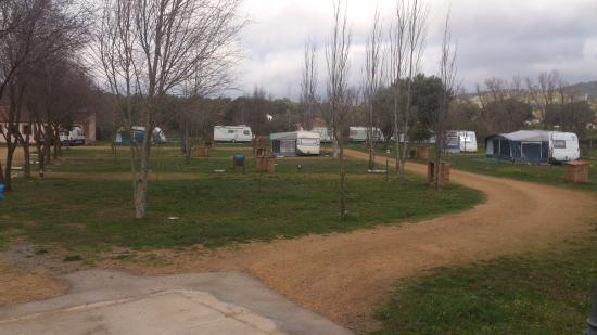 Camping Ribera del Chanza: parcelas