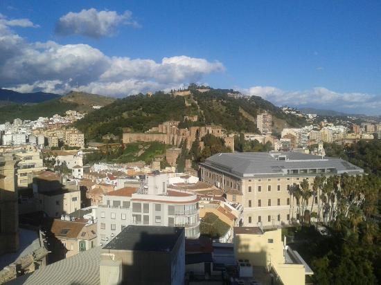 Villanueva de Tapia, Spania: Mooi uitzicht
