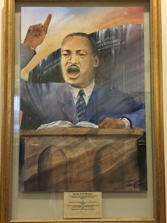 Montgomery Visitors Center: Dr Martin Luther King
