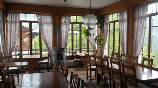 La Sage, Zwitserland: Dining room