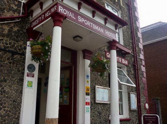 The Royal Sportsman Hotel, Porthmadog