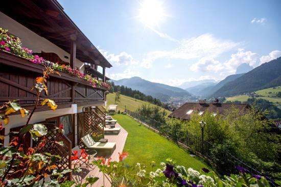 Grien: Unser Hotel in Sonnenlage