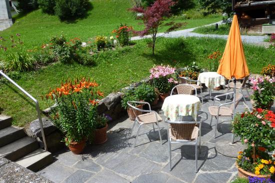 Hasliberg, Schweiz: Garten