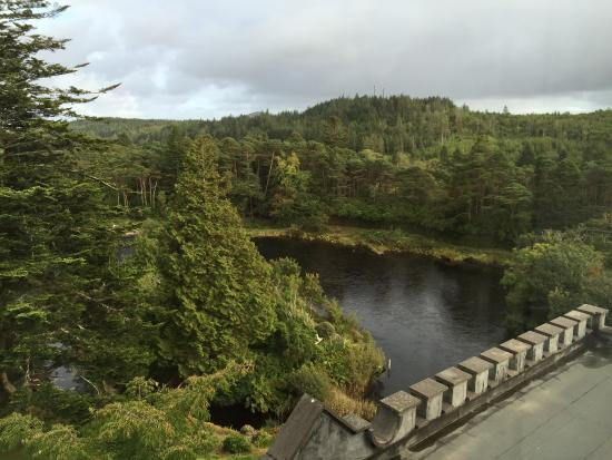 Ballynahinch Castle Hotel: View from room 17