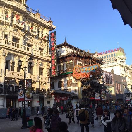 沈阳太原街购物街