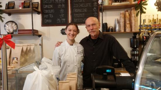 J Noto Bakery: Chef Kendele and Uncle!