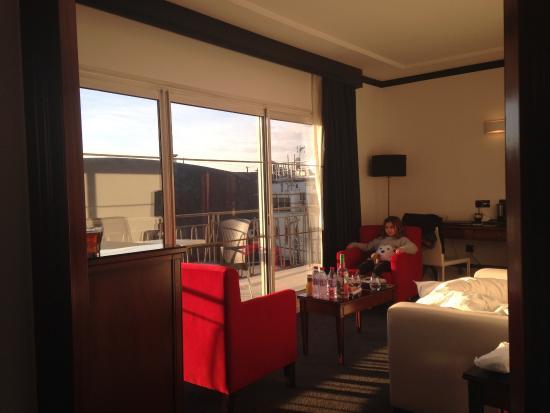 Melia Royal Alma: Dans le salon de la Suite du dernier etage.